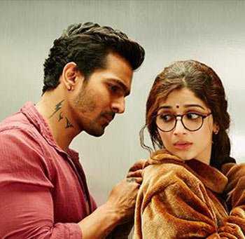 Harshvardhan Rane and Mawra Hocane in Sanam Teri Kasam