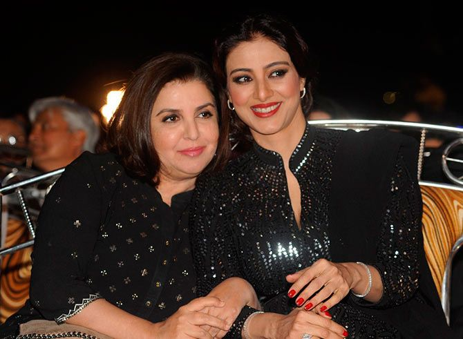 Farah Khan and Tabu