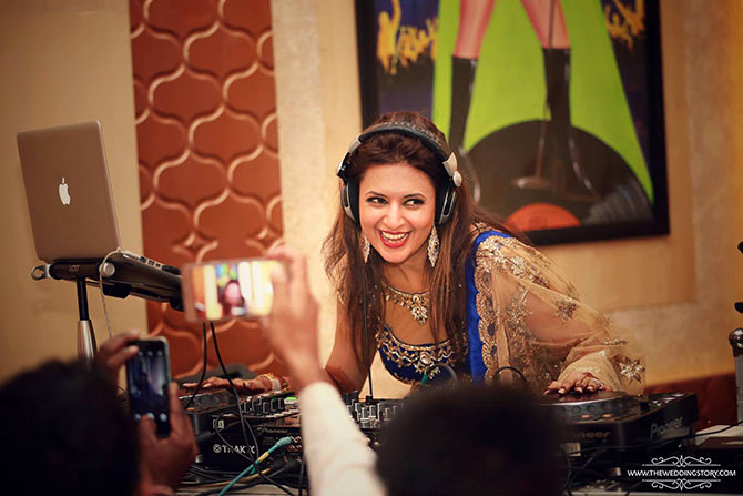 Be your own DJ at your wedding by playing the songs you love.