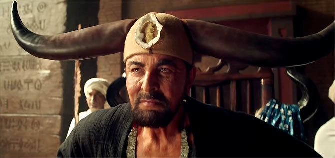 Kabir Bedi who plays the villain in Mohenjo Daro