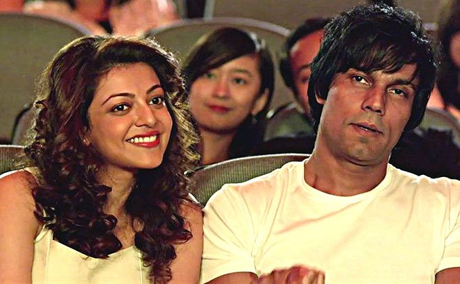 Kajal Aggarwal and Randeep Hooda