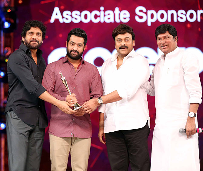 Nagarjuna and Chiranjeevi