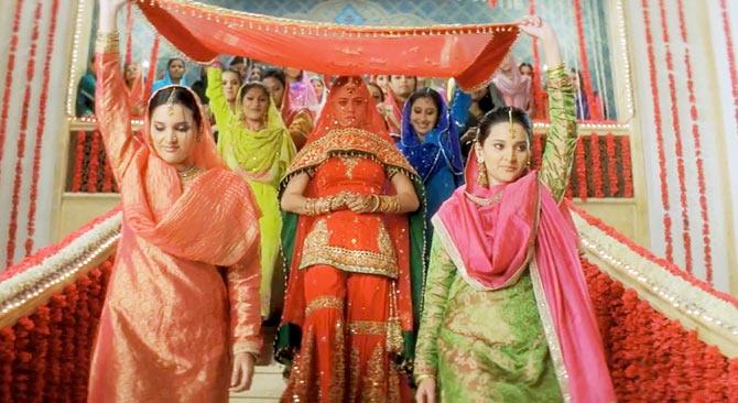 Wedding veer dress zaara 7 Bollywood