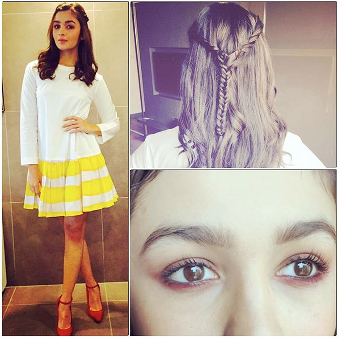 18 Hairstyle Tips From Alia Bhatt Rediff Movies