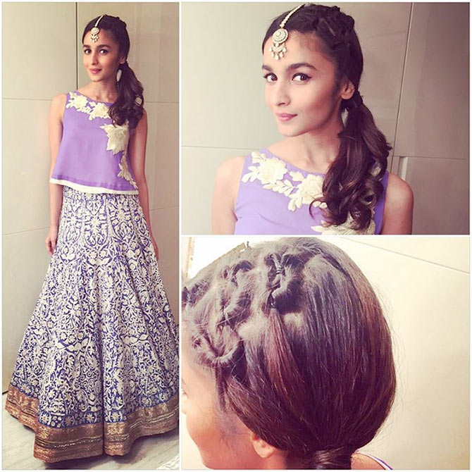 18 Hairstyle Tips From Alia Bhatt Rediff Com Movies
