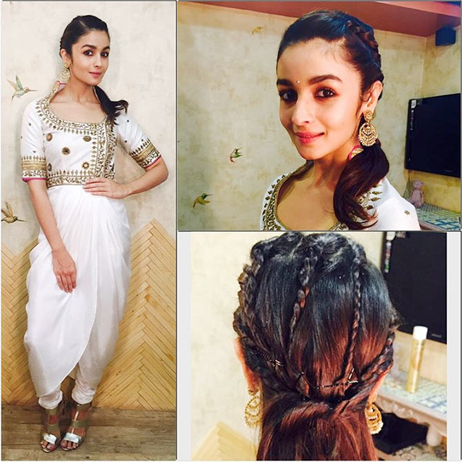 18 Hairstyle Tips From Alia Bhatt Rediff Movies