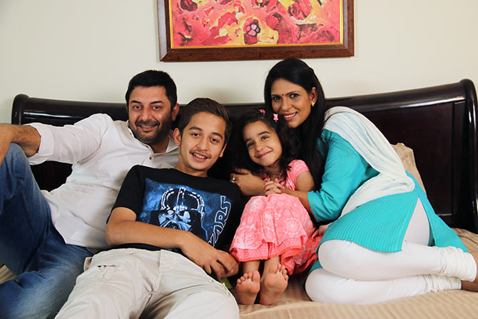 Arvind Swami, Himashu Sharma and Ekavali Khanna in Dear Dad