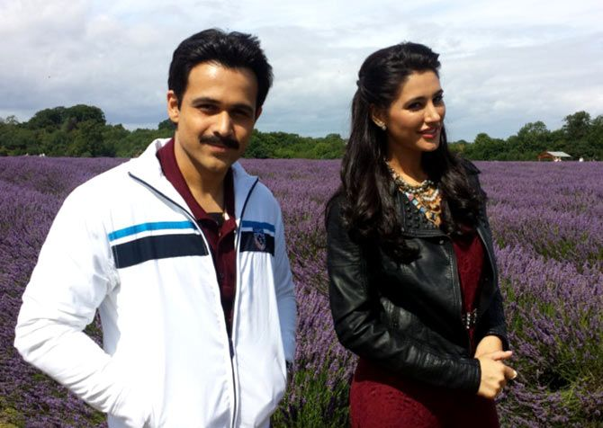 Emraan Hashmi and Nargis Fakhri in Azhar
