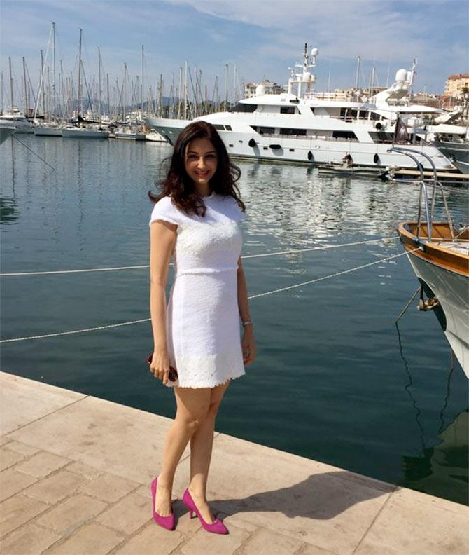 Pix Bhabiji Ghar Par Hai Actress Saumya Tandon In Cannes