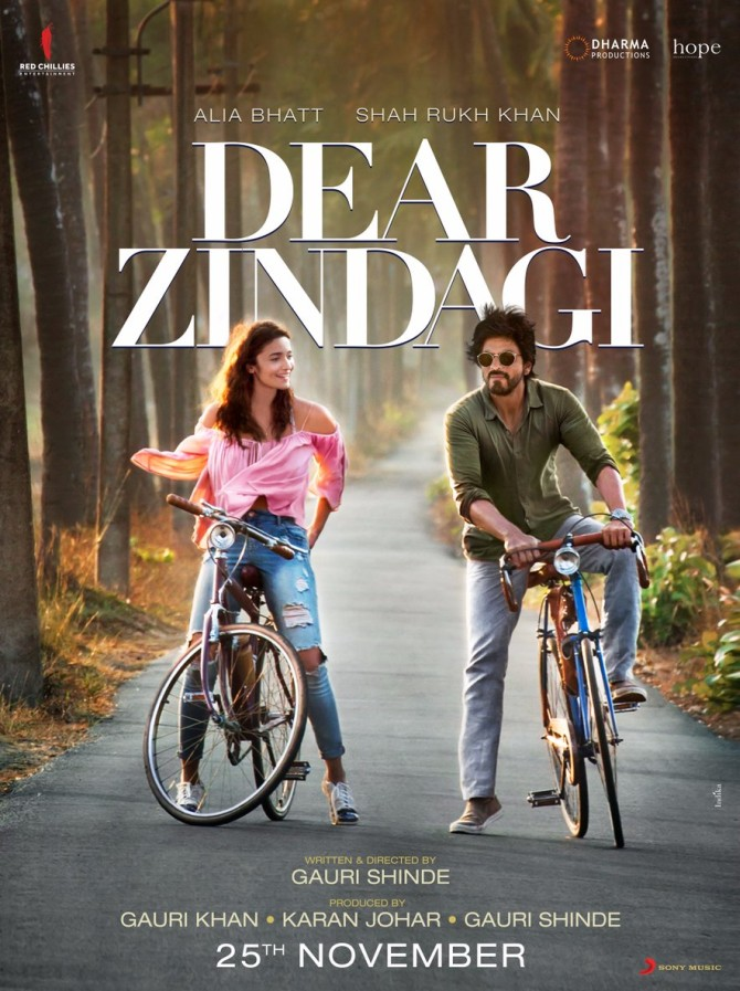 Like the poster of Dear Zindagi? - Rediff.com movies