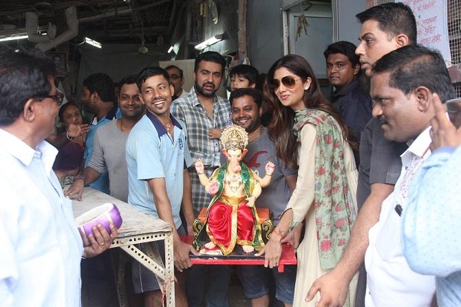 Shilpa Shetty Ganpati
