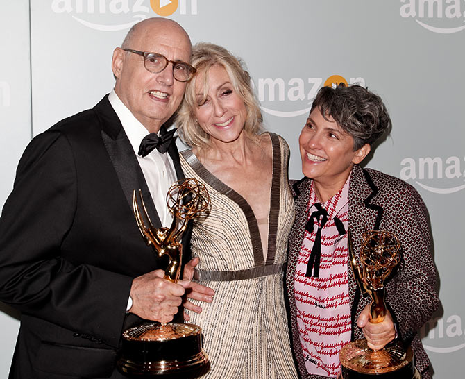 Jeffrey Tambor, Judith Light and Jill Soloway