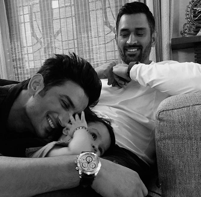 Sushant, Ziva, Dhoni: A smile amidst the sadness