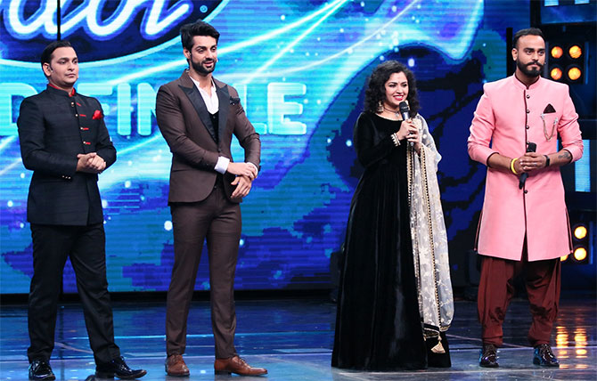 It's a dream come true to win Indian idol' - Rediff com movies
