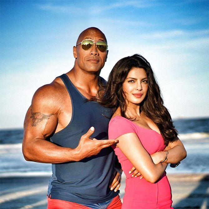 With Dwayne Johnson
