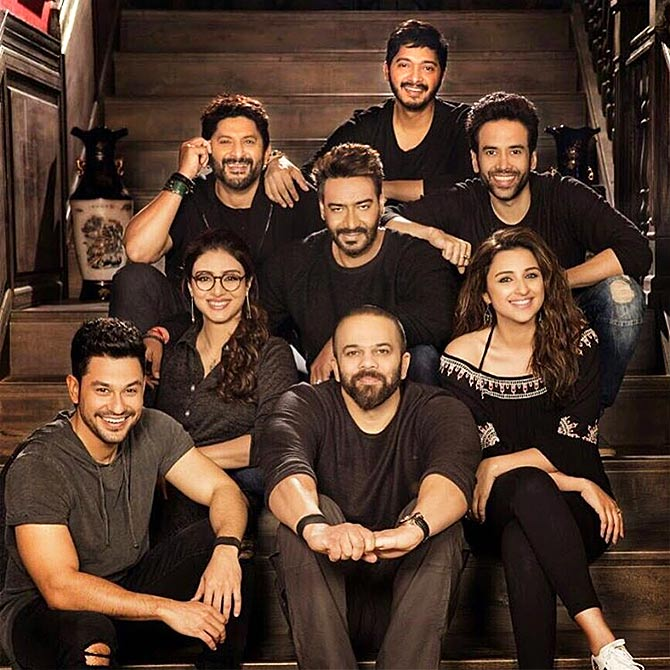 Current Bollywood News & Movies - Indian Movie Reviews, Hindi Music & Gossip - Video: On the sets of Golmaal Again!