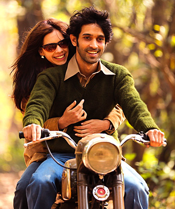 Kalki Koechlin and Vikrant Massey in A Death in the Gunj