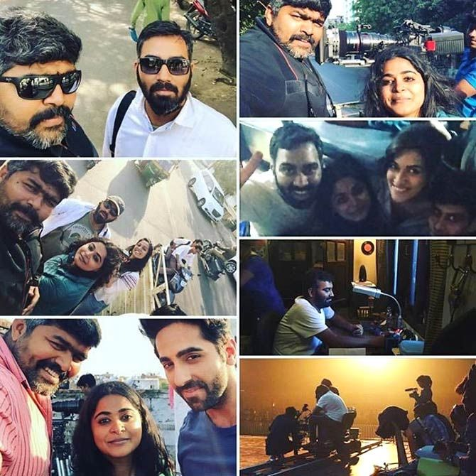 The madness on the sets of Bareilly Ki Barfi