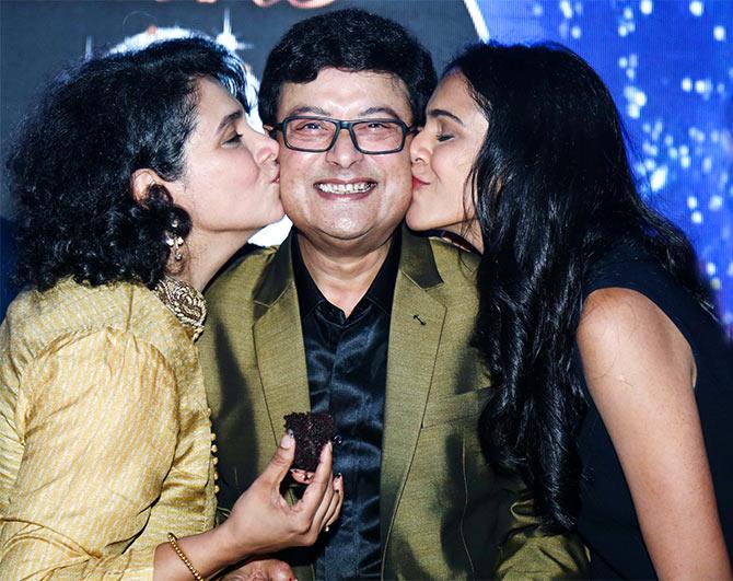 PIX: Sachin Pilgaonkar's 60th birthday bash - Rediff.com movies