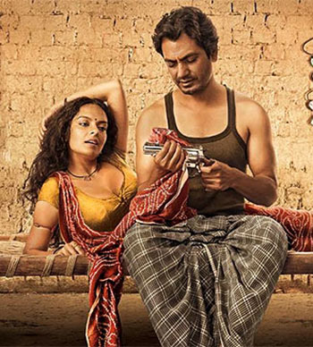 Bidita Bag and Nawazuddin Siddiqui in Babumoshai Bandookbaaz