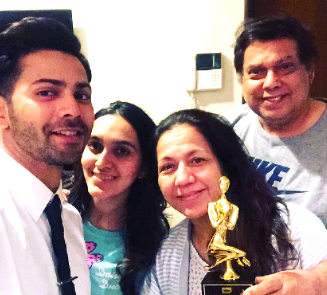 #InstaStories: Varun Dhawan's winning moment