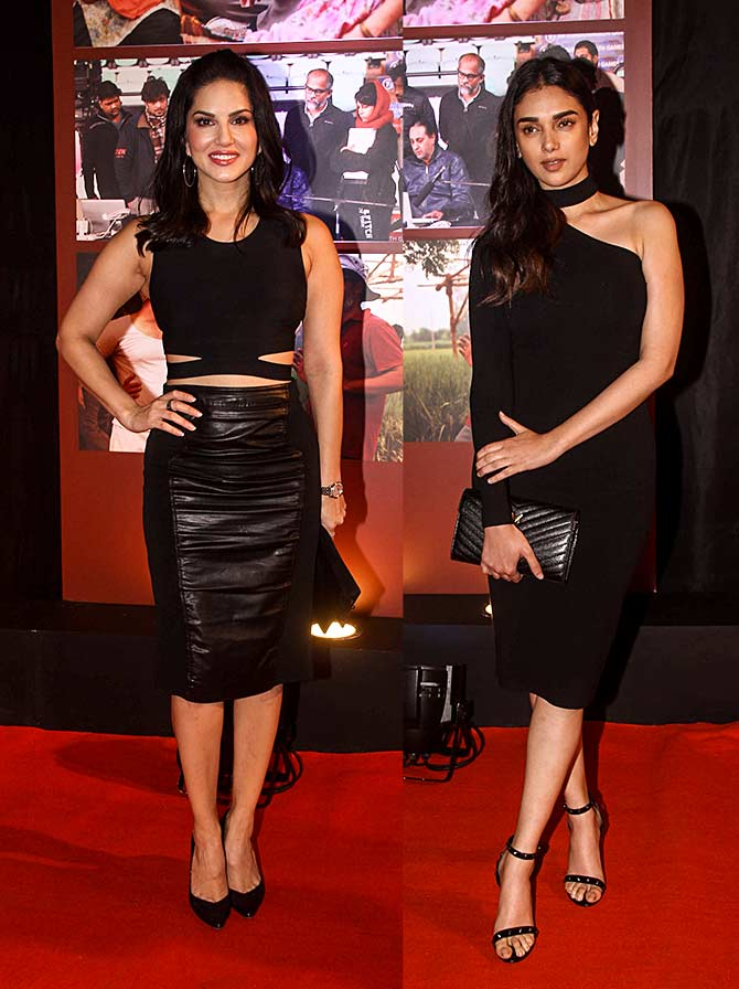 PIX: Alia, Sunny Leone party with Aamir - Rediff com movies