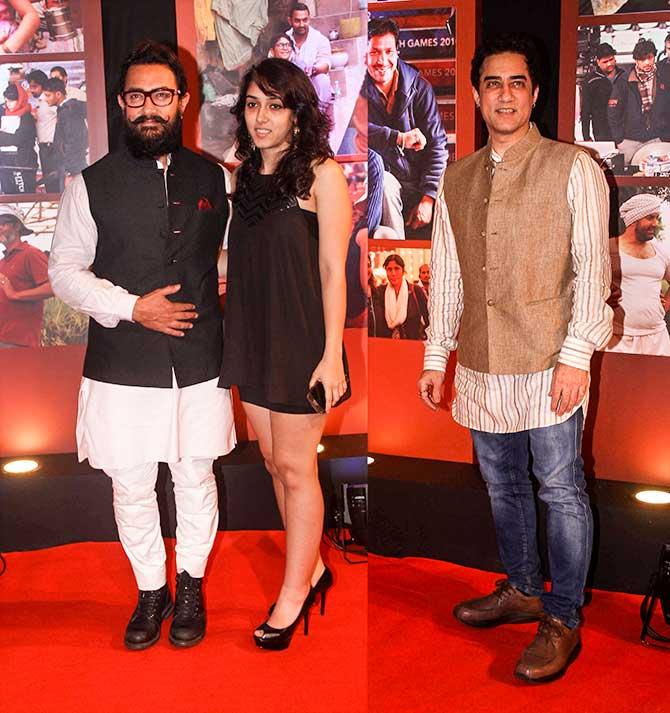 PIX: Alia, Sunny Leone party with Aamir - Rediff com movies
