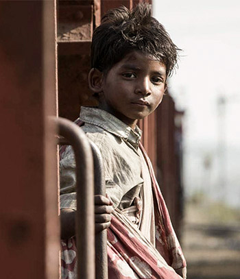 Sunny Pawar in Lion