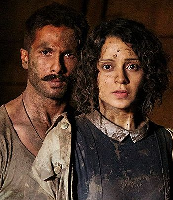 Shahid Kapoor and Kangana Ranaut in Rangoon