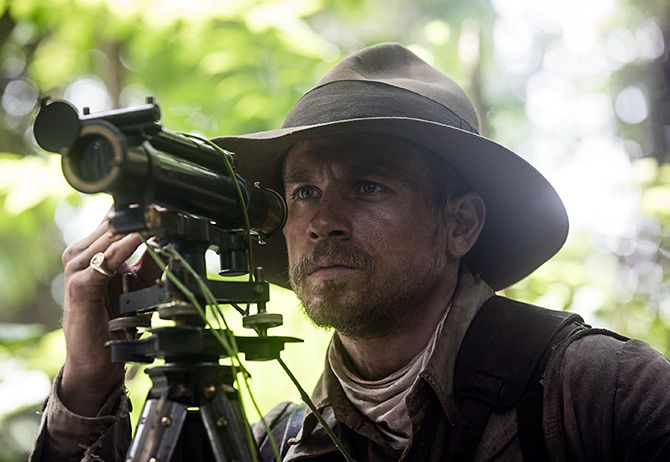 A scene from The Lost City of Z