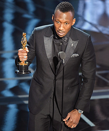 Mahershala Ali wins for Moonlight