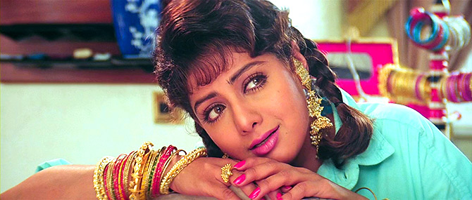 Sridevi is memorable in Lamhe