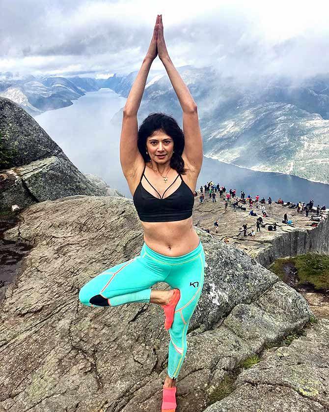 Yoga asanas to fight stress