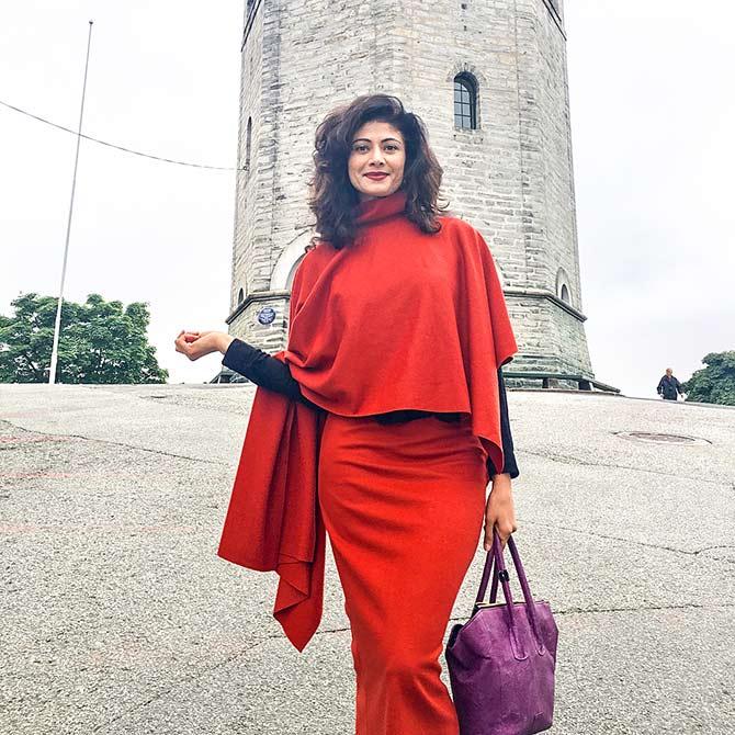 PIX: Pooja Batra's AWESOME Norway holiday - Rediff com movies