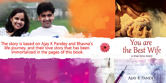Ajay K Pandey's first book, You Are The Best Wife, the true story of his romance, marriage and the subsequent tragic death of his wife, has sold ablut 75,000 copies.
