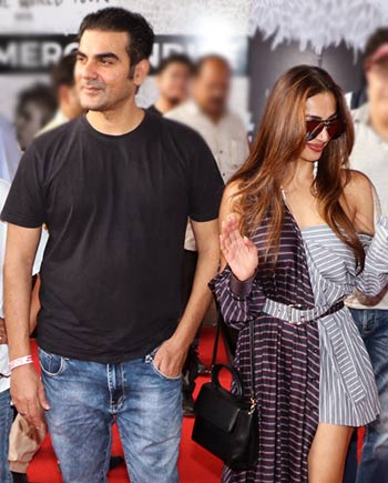 Arbaaz Khan and Maliaka Arora