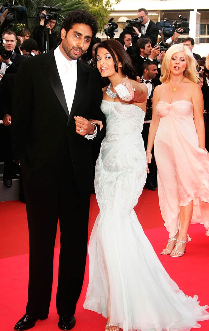 Ash and Abhi at Cannes