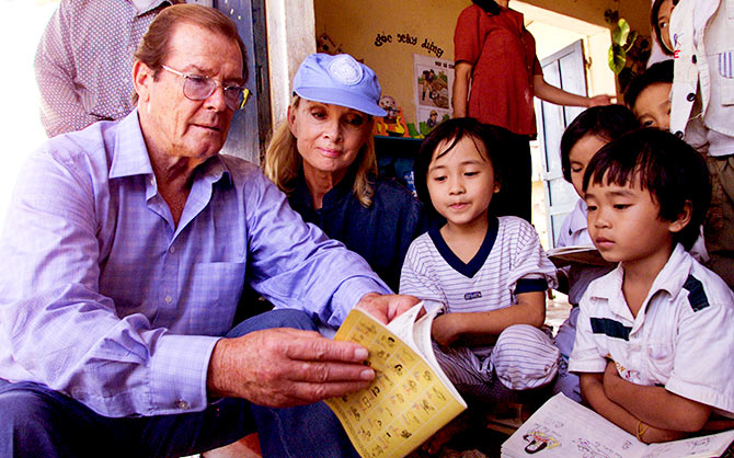 Roger Moore UNICEF