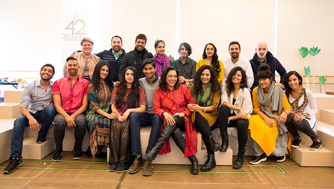 Monsoon Wedding musical team