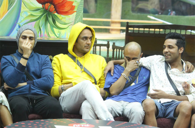 Priyank, Vikas, Akash and Puneesh