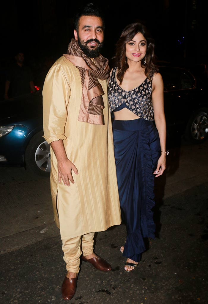 Raj Kundra and Shamita Shetty