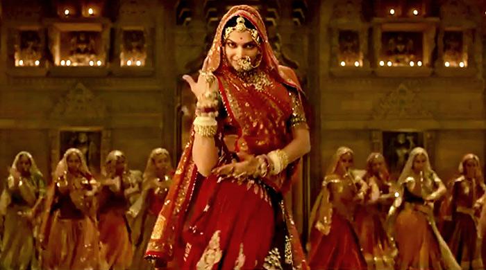 PIX: Deepika twirls for Padmavati - Rediff.com movies