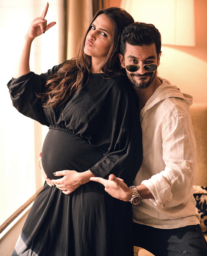 Neha Dhupia Is Pregnant, And Heres How We Know - Rediff -2071