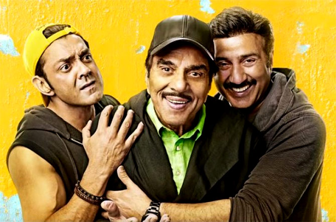 Current Bollywood News & Movies - Indian Movie Reviews, Hindi Music & Gossip - Yamla Pagla Deewana Phir Se Review: Not again!