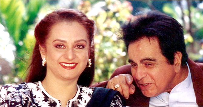 Dilip Kumar at 96: Saira Banu's fascinating memories - Rediff.com movies