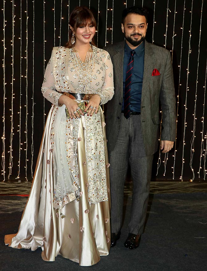 Pix Deepveer And Other Couples At Priyankas Reception Rediffcom