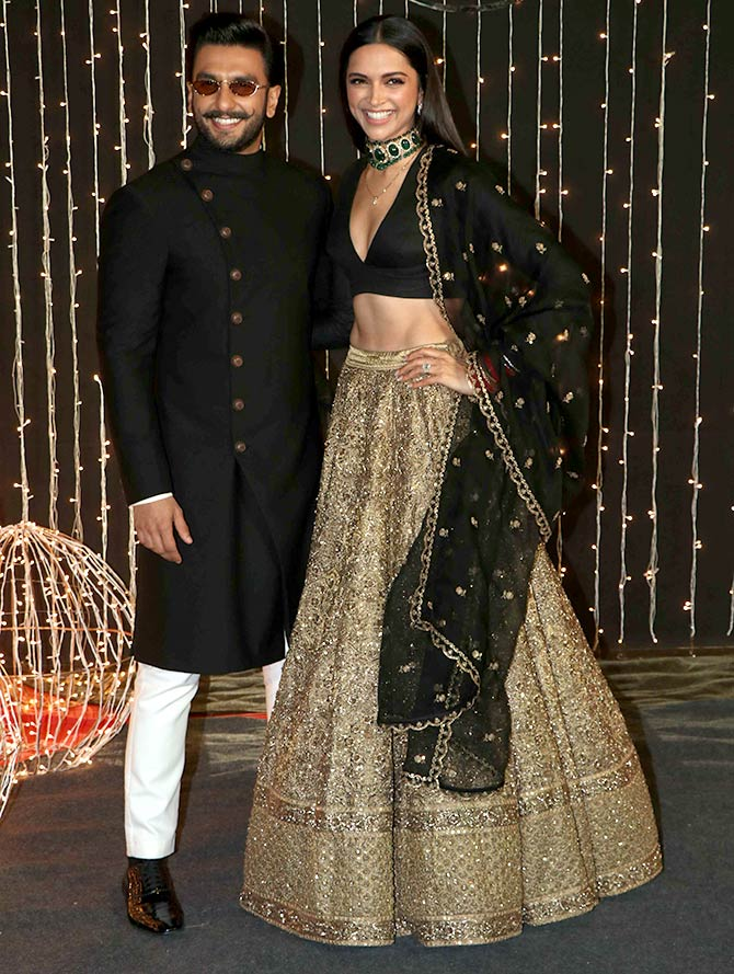 PIX: DeepVeer and other couples at Priyanka's reception - Rediff com