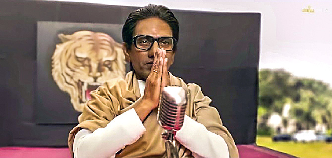 Nawazuddin Siddique plays Bal Thackeray in Thackeray