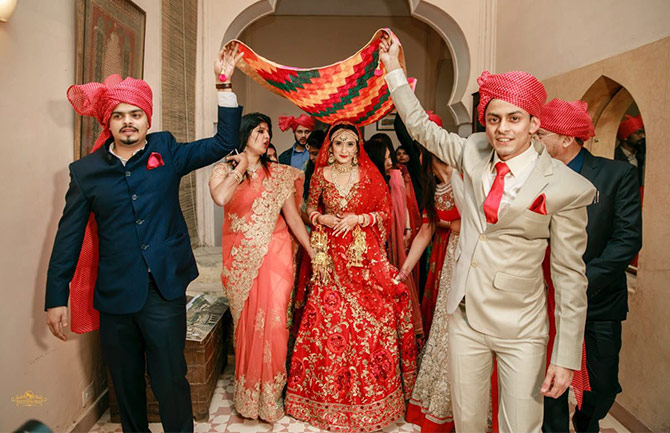 Gautam Rode A Very Private Person Invited Only Close Friends And Family To The Extravagant Affair