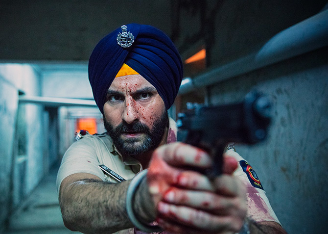 Current Bollywood News & Movies - Indian Movie Reviews, Hindi Music & Gossip - Review: Sacred Games: Perfect weekend binge-watching